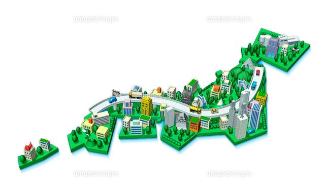 今後の日本~迫りくる人口減少 ... : 地方図 : すべての講義